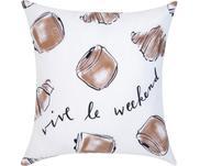 Funda de cojín de diseño Kera Till Croissant