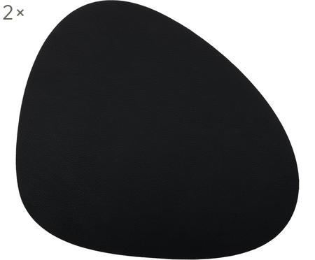 Manteles individuales de cuero sintético Leni, 2uds.