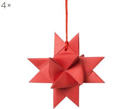 Adorno navideño Star Origami, 4uds.