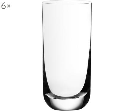 Vasos highball de cristal Harmony, 6uds.