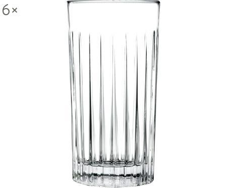 Vasos highball de cristal Timeless, 6uds.