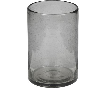 Jarrón artesanal de vidrio Spring