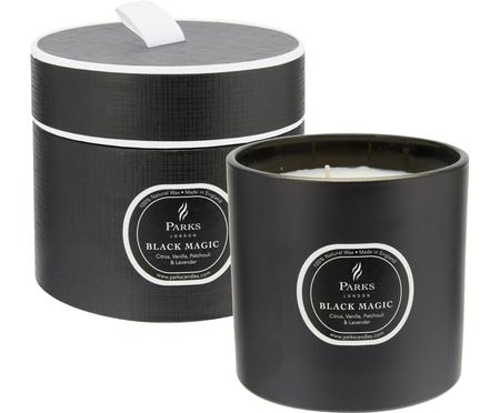 Vela perfumada con tres mechas Black Magic (cítricos y vainilla)