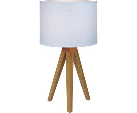 Lámpara de mesa de madera Kullen