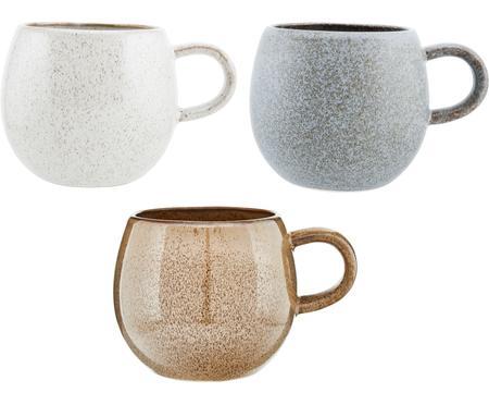 Tazas de té artesanales Addison, 3uds.
