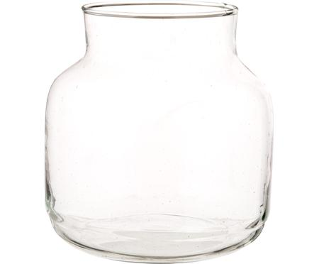Jarrón de vidrio reciclado soplado Dona
