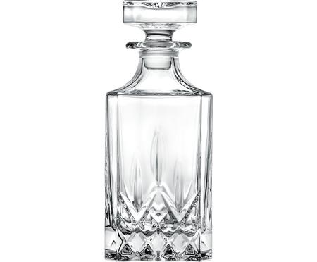 Decantador de cristal con relilve Opera, 750ml