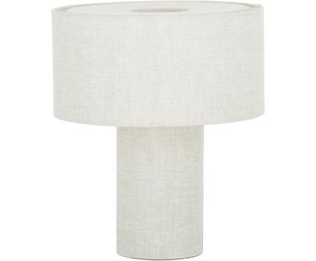 Lámpara de mesa pequeña de tela Ron