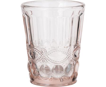 Vasos con relieve Solange, 6uds.