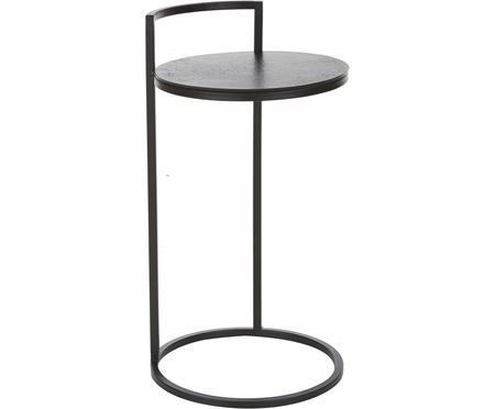 Mesa auxiliar redonda de metal Circle