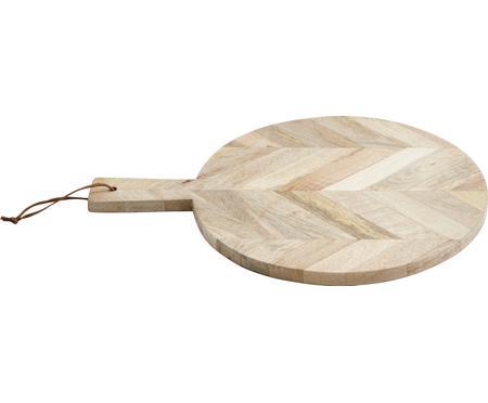 Tabla de cortar de madera de mango Herringbone