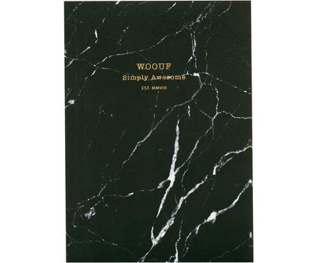 Cuaderno Black Marble