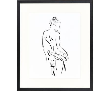 Impresión digital enmarcada Naked Woman