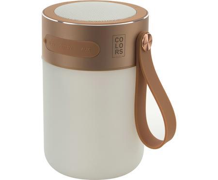 Lámpara para exterior regulable con altavoz Sound Jar, portátil