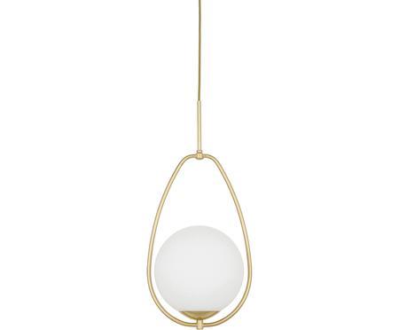 Lámpara de techo pequeña de vidrio opalino Avalon