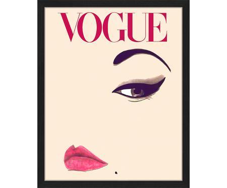 Impresión digital enmarcada Oh So LovelyObsessions Vogue