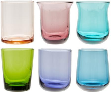 Vasos chupito soplados artesanalmente Desigual, 6uds.