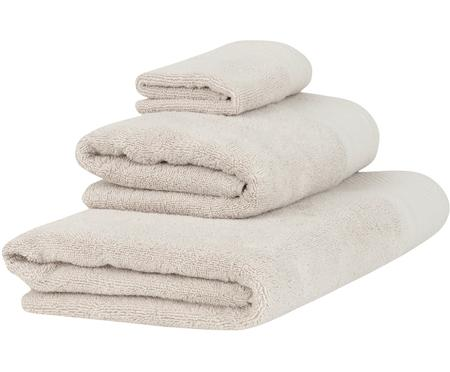 Set de toallas con cenefa clásica Premium, 3pzas.