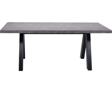 Mesa de comedor extensible en cemento Apex