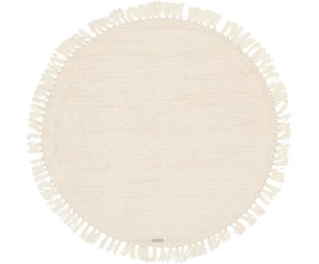 Alfombra redonda de lana Alma