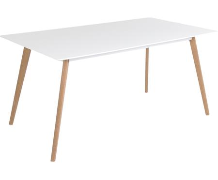 Mesa de comedor Flamy, estilo escandinavo