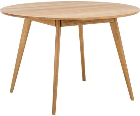 Mesa de comedor redonda de madera Yumi