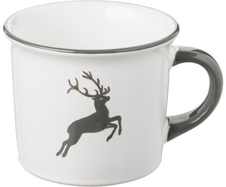 Taza de café artesanal Classic Grauer Hirsch