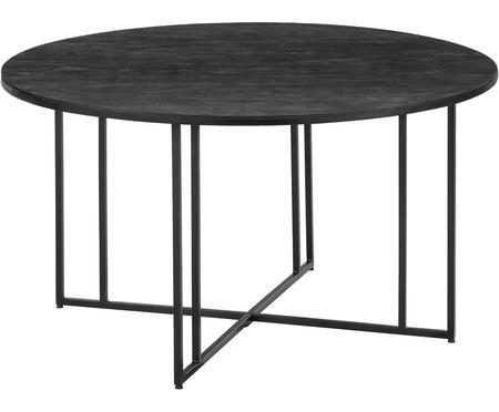 Mesa de comedor redonda de madera maciza Luca