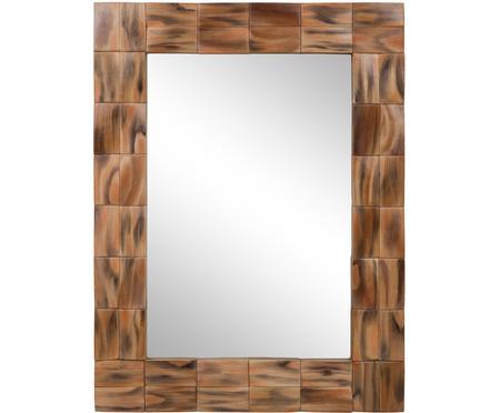 Espejo con marco de madera Mateo