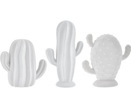 Set de cactus decorativos Dina, 3pzas.