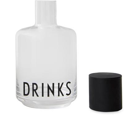 Jarra de vidrio de diseño Drinks, 500ml