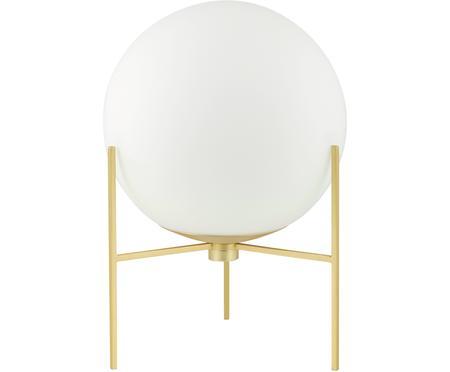 Lámpara de mesa pequeña de vidrio opalino Alton