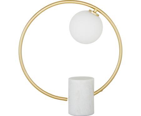 Lámpara de mesa de mármol Soho, estilo glam