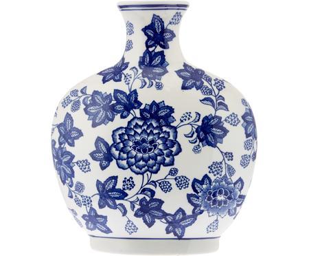 Jarrón de cerámica Blue Flowers