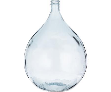 Jarrón de suelo de vidrio reciclado Drop