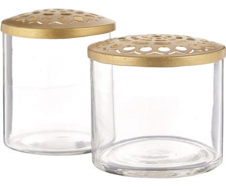 Set de jarrones pequeños Kastanje, 2pzas.