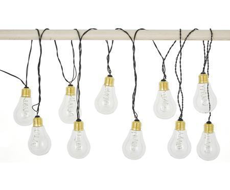 Guirnalda de luces LED Bulb, 360cm, 10 luces
