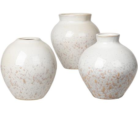 Set de jarrones de cerámica Ingrid, 3pzas.