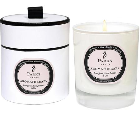 Vela perfumada Aromatherapy (rosa, fresia y azucena)