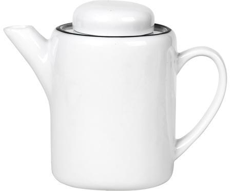 Tetera artesanal de porcelana Salt, 1,3L