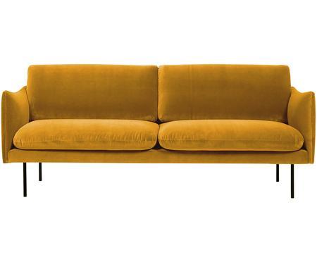 Sofá de terciopelo Moby (2plazas)