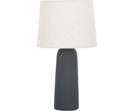 Lámpara de mesa grande de cemento Kaya