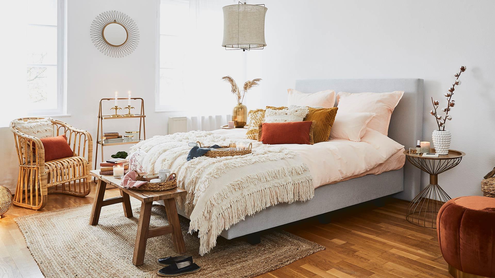 Dormitorio étnico