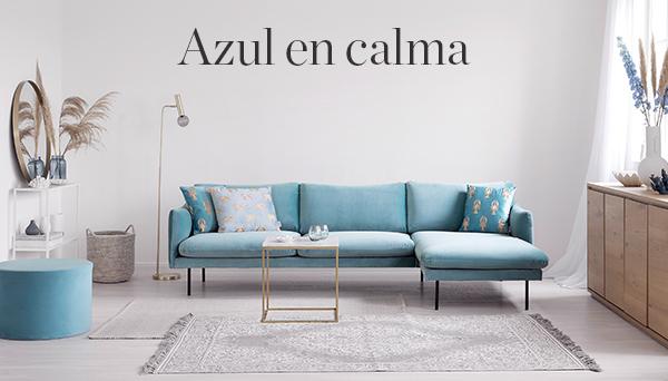 Azul en calma