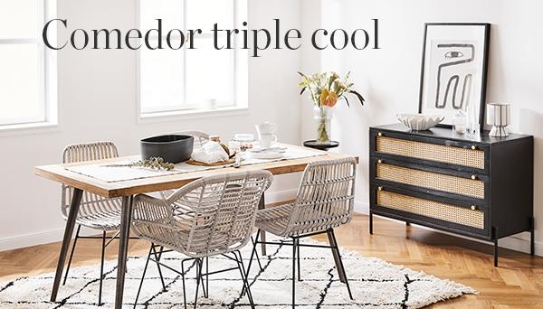 Comedor triple cool
