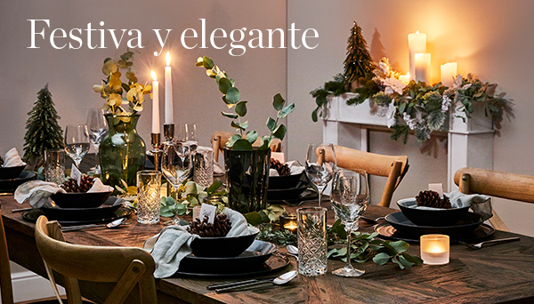 Festiva y elegante