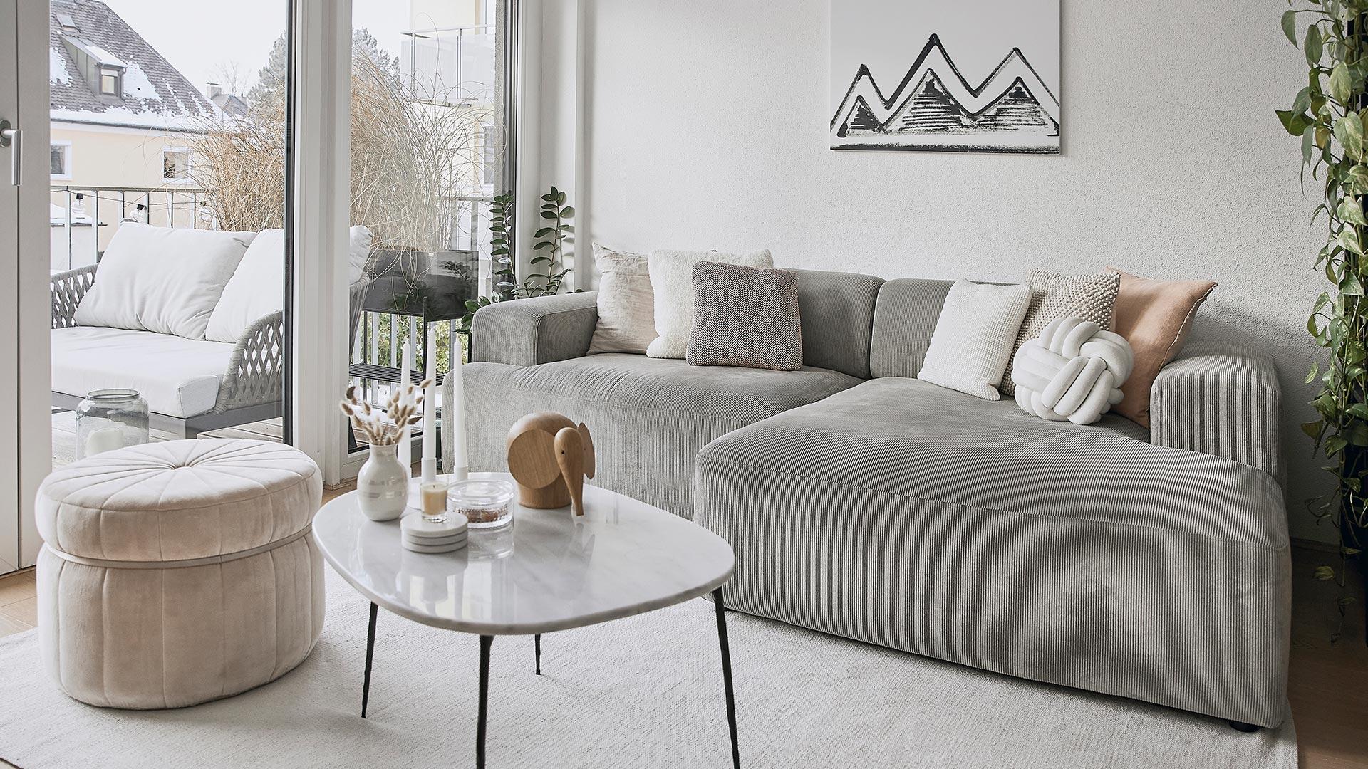 Un sofá familiar