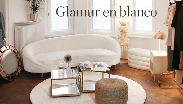 Glamur en blanco
