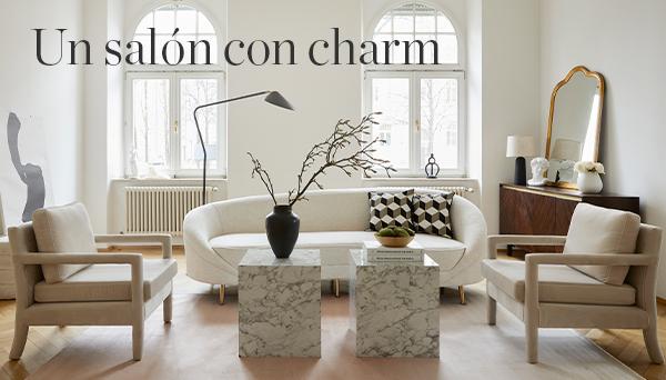 Un salón con charm